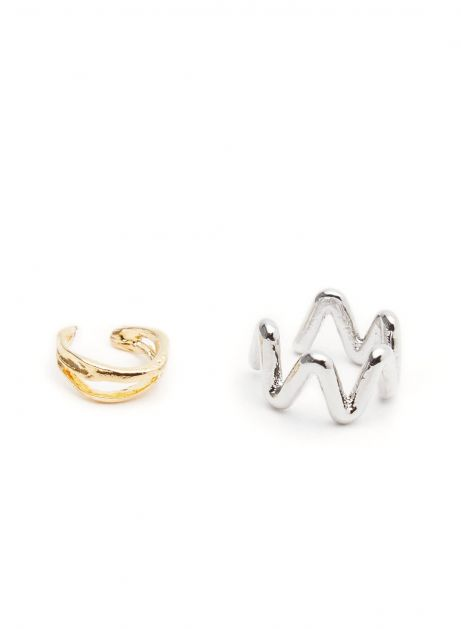 twisty ear cuff set