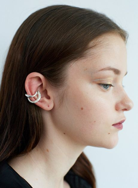 polish metal ear cuff set