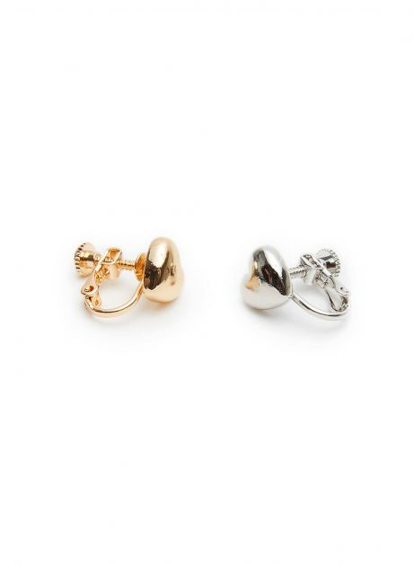heart connect earring