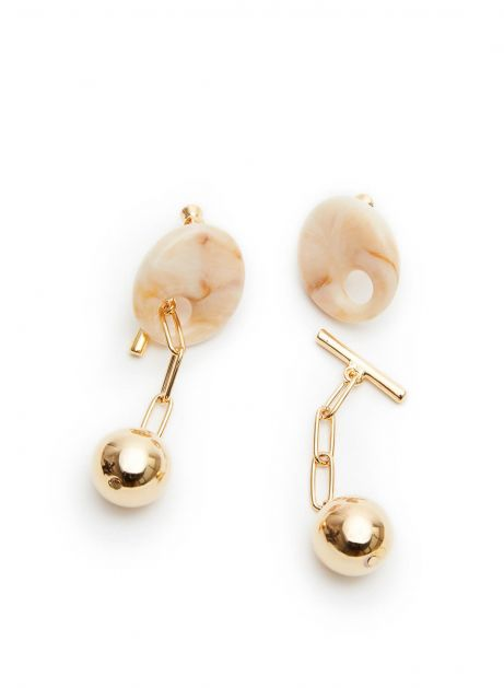 separate lily earring