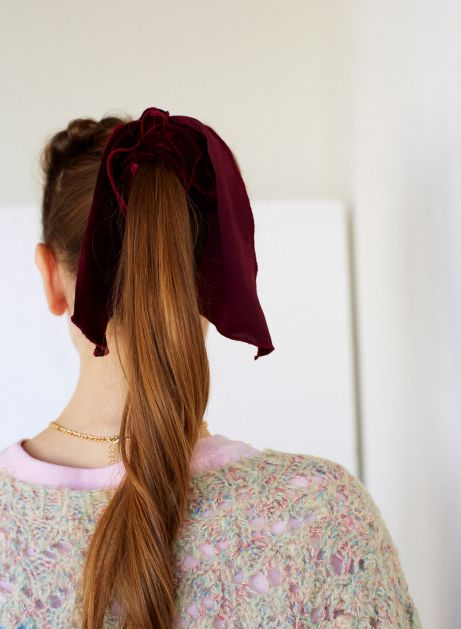 tail ribbon hairband