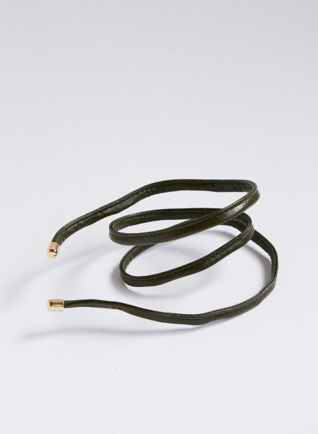 faux leather rope