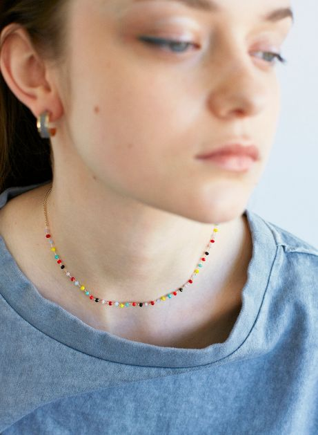 playful bijou necklace