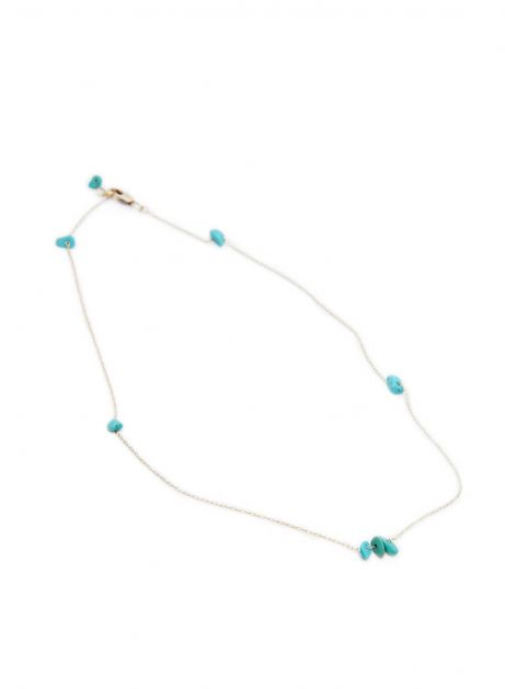 tender natural stone necklace