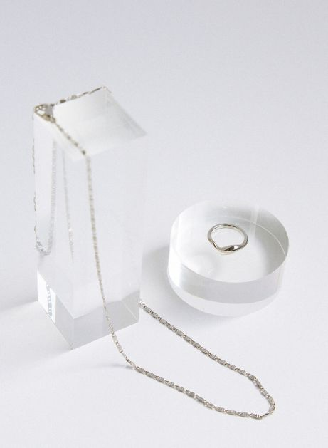 3way pinky ring necklace