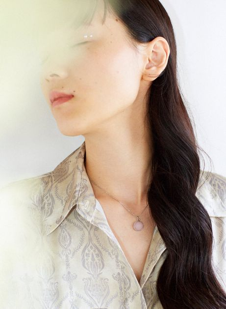 marble point necklace