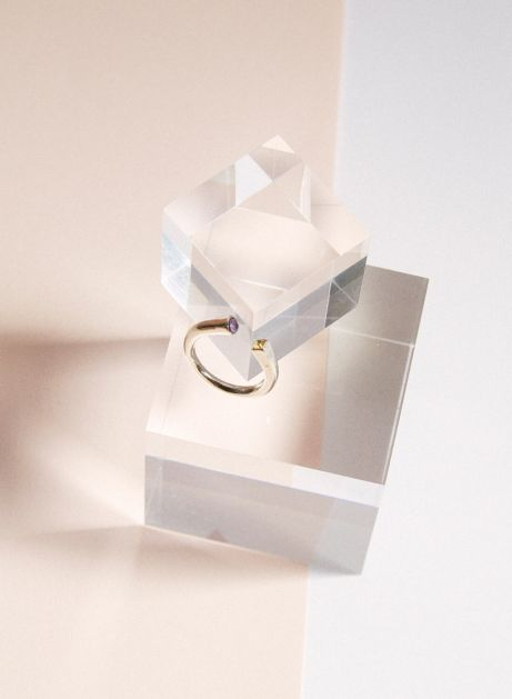 always together 2stone ring