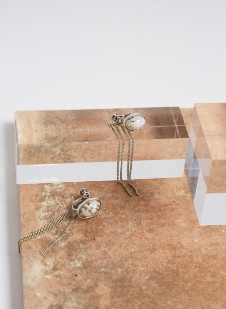 2as1 cabochon earring